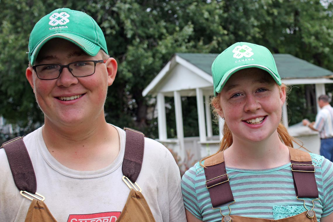 Connor and Caroline Dawson 4-H